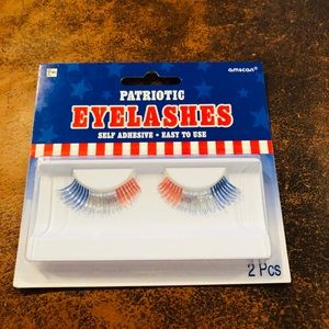 Patriotic Eyelashes NIB